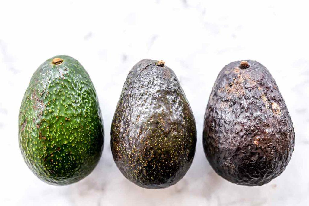 Αβοκάντο σύγκριση φρούτων